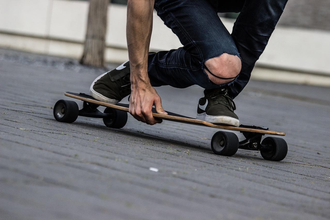 miejskie sporty - Longboard
